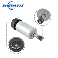 DC Spindle 300W air cooling CNC Router Spindle Motor+ ER11 Collet chuck For cnc milling machine