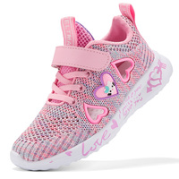 High Quality Brathable Kids Trainers for Girls Sneakers Brand 2019 Fashion Cutout Children Running Shoes Casual Sport Shoes