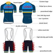Top Qualität Pro Nach Radfahren Jersey Bib Set Maßgeschneiderte Fahrrad Kleidung Radfahren Set Fabrik Mann Set Schnelle Versand
