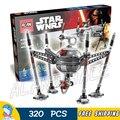 320 pcs star wars universo 05025 homing droid aranha modelo diy conjuntos de blocos de construção tijolos brinquedos compatíveis com lego