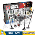 320pcs Star Wars universe 05025 Homing Spider Droid DIY Model Building Blocks Toys Bricks Sets Compatible with Lego