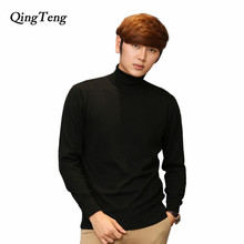 Winter Turtleneck Men Cashmere Plus Size Wholesale High Neck Big Large Size Wool Sweater Male Warm Solid Pullover Jackect Xxxl