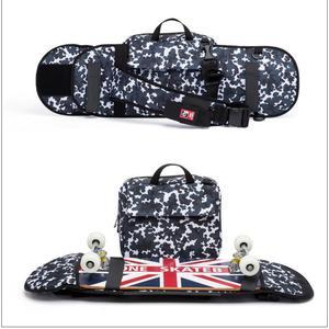 Image 5 - ストリートスケートボードバックパックシングルショルダーバッグダブルロッカーキャリングバッグ 900D ナイロンオックスフォードナップザックのための 21 × 90 センチデッキ