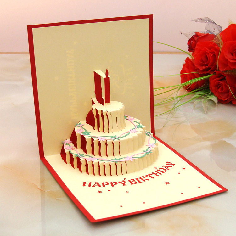 3D Birthday Cards gangcraftnet – Where Can I Buy Birthday Cards