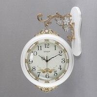 Double sided Wall Clock Saat Clock Reloj Duvar Saati Relogio de Parede Digital Clocks Horloge Murale reloj de pared Home decor