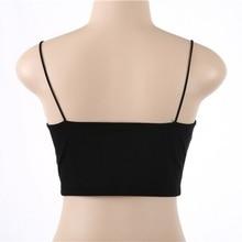 Summer Sexy Women Sleeveless Straps Tank Top 95% Cotton