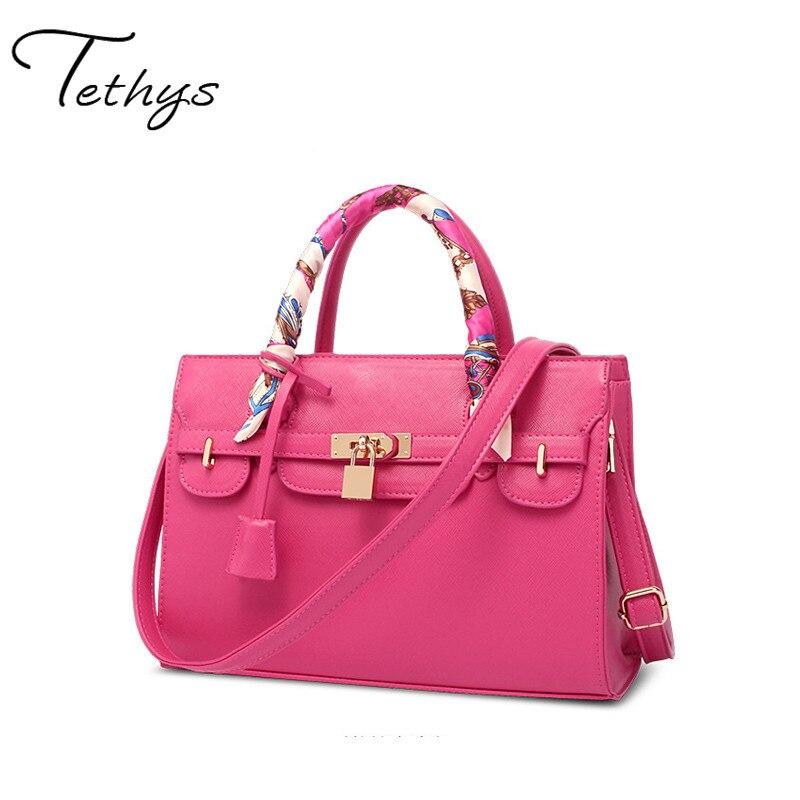 fashion luxury handbags women bags designer handbag with scarf lock shoulder me