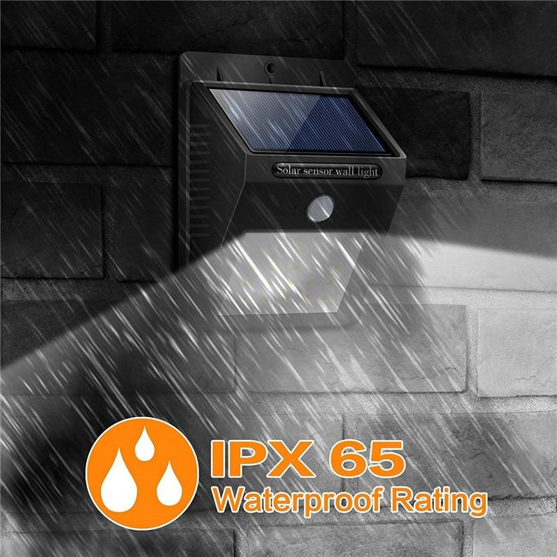 LED Sensor Night Lights with Motion Sensor Wireless Wall Lamp Outdoor Waterproof Solar Garden Streets Light Road Auto Night Lamp (7)