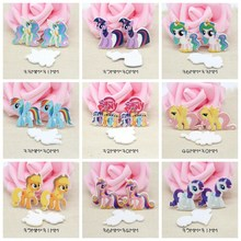 10PCS Mixed Horse Charm Planar Resin Charms for Jewelry Making Cute Little Cabochons