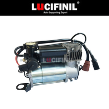 LuCIFINIL New Air Suspension Air Compressor Air Pump Air Ride Fit Audi A6 C6 4F0616005E  4F0616006A