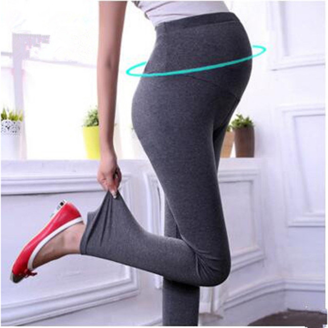Mother's Day Gift Spring Winter Thickened High Waist Pants For Pregnant Women High Quality Prop Belly Leggings For Maternity