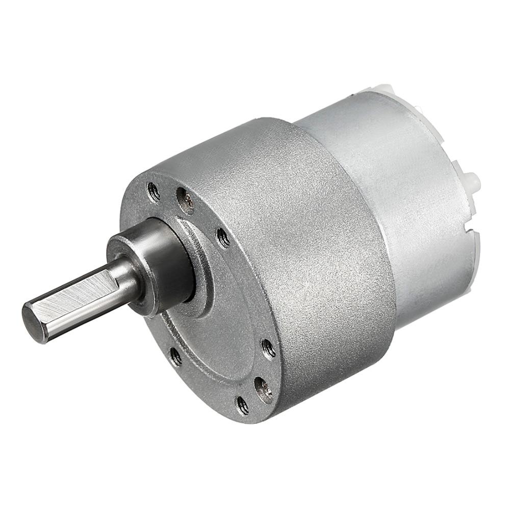 UXCELL Good Quality 1PCS Mini DC Gear Box Electric Motor 12V 570RPM for M3,Torque High-Temperature Resistance 0.18kg.cm Loading цена