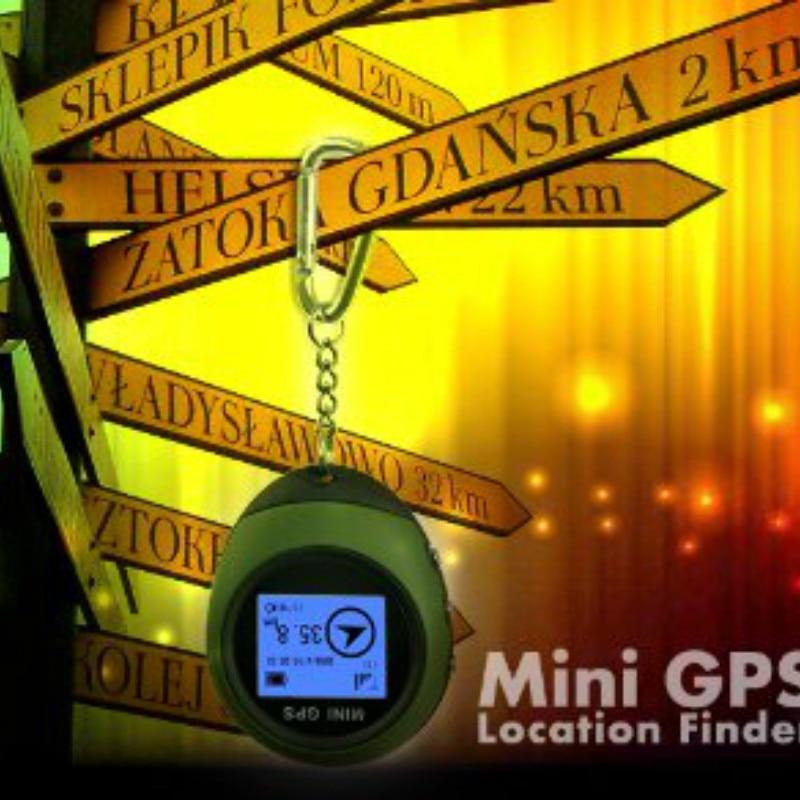 Keychain Tracker-Device Locator Vehicle GPS Outdoor-Sport Mini Portable Travel Handheld