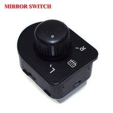 1J1959565F 1Pc Left Side Control Master Adjust Knob Mirror Switch Button For VW Jetta Golf Mk4 Beetle Bora Passat 1998-2006