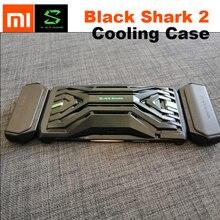 """الأصلي شاومي الأسود القرش 2/2Pro غمبد br08 التبريد الغطاء الخلفي أذرع التحكم في ألعاب الفيديو H66L H66RS المزدوج السكك الحديدية اتصال حالة 6.39"""""""