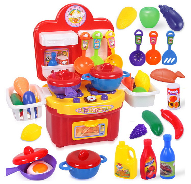 S Cooking Toys Kids Pretend Play