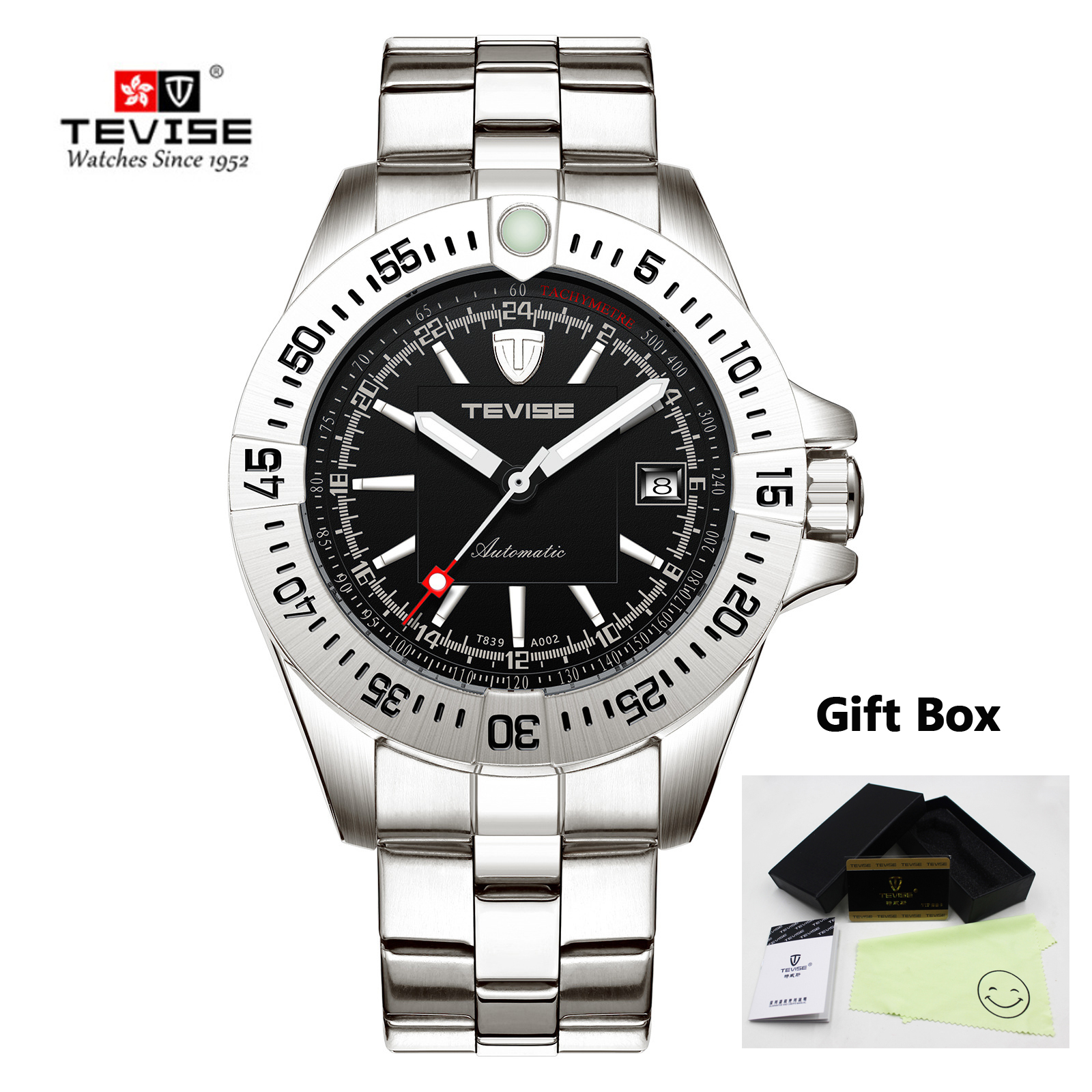 Relogio Tevise Men Watch Automatic Mechanical Watches Men Business Wristwatches Clock Masculino With Gift box Reloj hombre 2019Relogio Tevise Men Watch Automatic Mechanical Watches Men Business Wristwatches Clock Masculino With Gift box Reloj hombre 2019