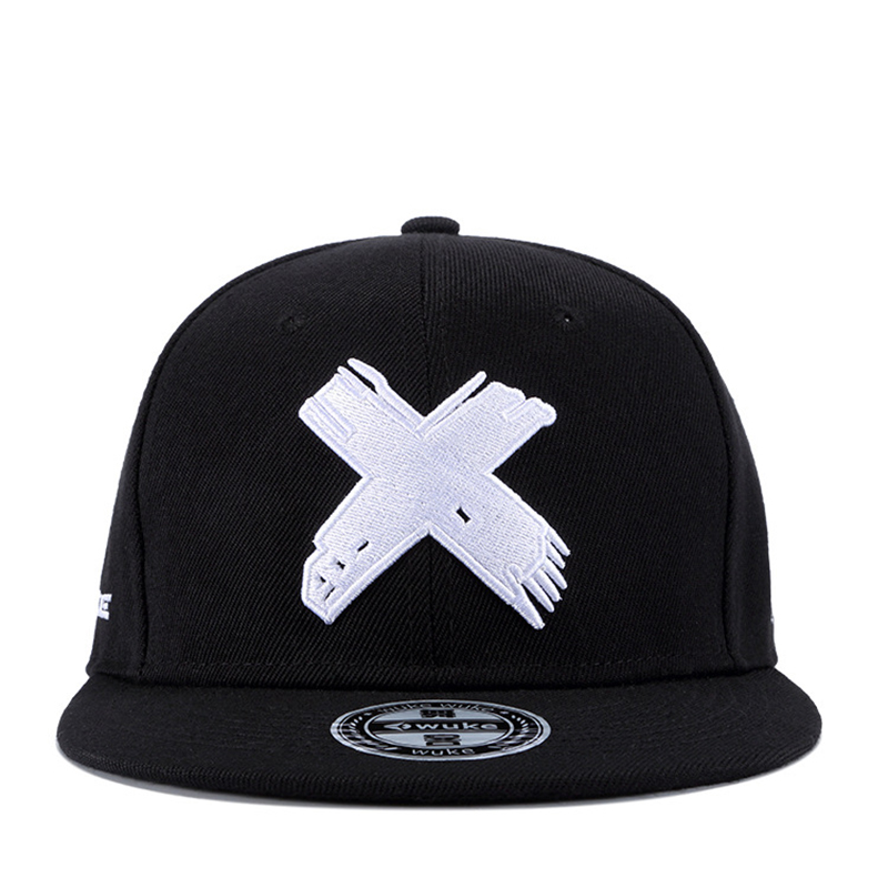 2019new High Quality Unisex Cotton Snapback   Cap   3D X Embroidery Mens Flat Brim   Baseball     Cap   Fashion Hip Hop Hats