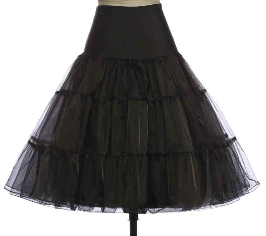 67CM 50s Retro Underskirt Swing Vintage Petticoat Fancy Net Skirt Rockabilly Skirt Tutu Pettiskirt S/M L/XL 2XL/3XL 4XL 6XL