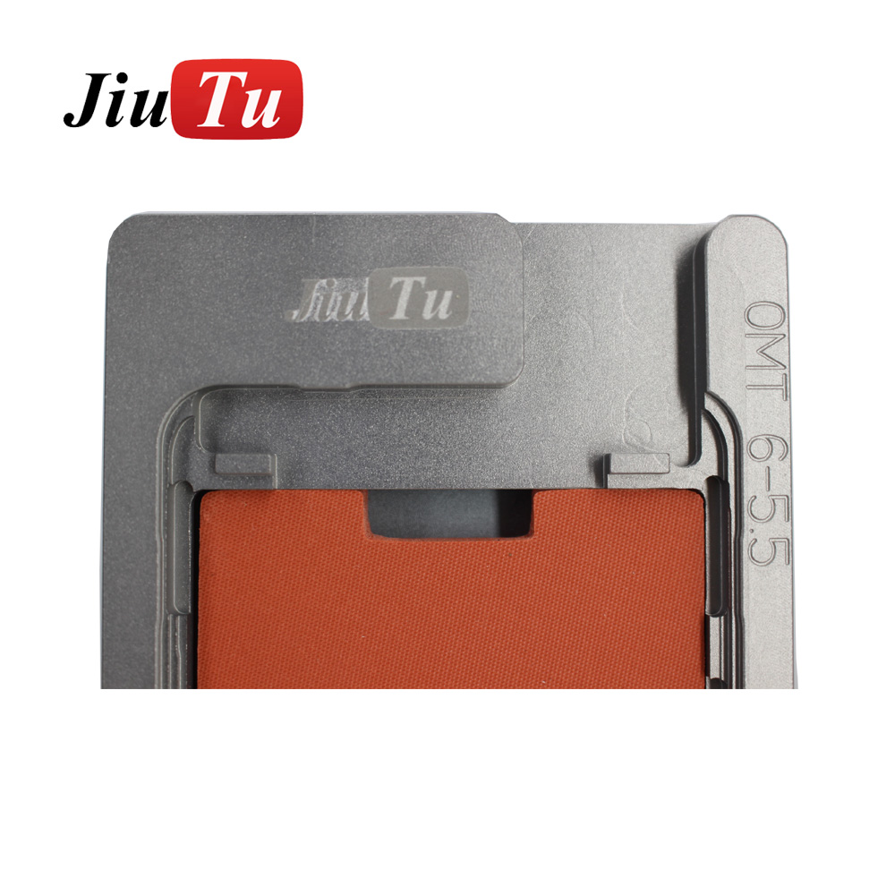 Aluminium Mould For iPhone plusX Laminator mold metal jig Only for the front glass with frame Location for OCA user (10)
