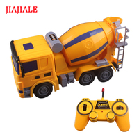 JJL Rc Truck Mixer Ready To Go Toy Remote Control Engineering Dump Truck Model Vehicle Toys for children boys Christmas gift