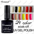 Vrenmol 8ml UV Nail Gel Polish Long Lasting LED Nail Lacquer Base Top Coat Gelpolish Fingernails Art Soak Off Gel Varnish