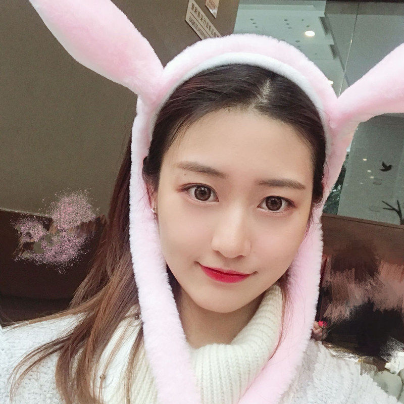New Bunny Hat Moving Ears Gorro Con Orejas Que Se Mueven Headband Will Move Rabbit Ears Headband Gorro Con Orejas Que Se