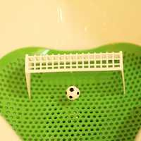 1PC Football Soccer Shooting Mat Bathroom Accessories Goal Style Deodorising Urinal Screens Mat For Toilet Hotel Home