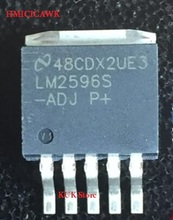 Real 100% Original NEW LM2596S -ADJ LM2596S-ADJ LM2596SX-ADJ D2PAK 10PCS/LOT free shipping 20pcs lot lm1084 it adj three terminal regulator to 220 package new original