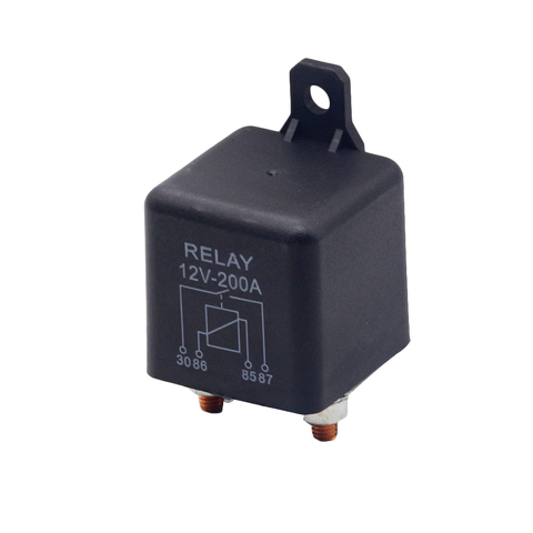 Car Truck Motor Automotive high current relay 12V/24V 200A 2.4W  Continuous type Automotive relay car relays Pakistan