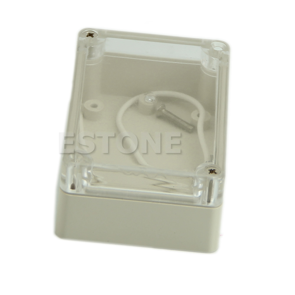 Waterproof Plastic Electronic Project Box Enclosure Cover CASE 158x90x60mm CLD