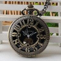 Wholesale Automatic Mechanical Pocket Watch Student Couple Old Man Arabic Digital Hanging Watch Retro Pocket Watch 3JX195