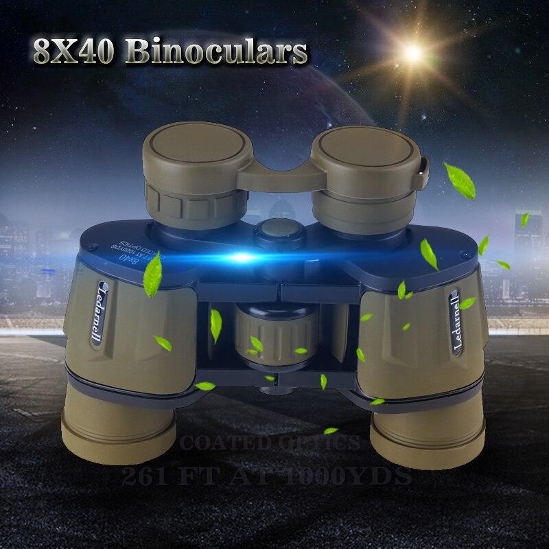 8x40 high definition high power night vision outdoor infrared binoculars hunting professional binoculars telescope waterproof