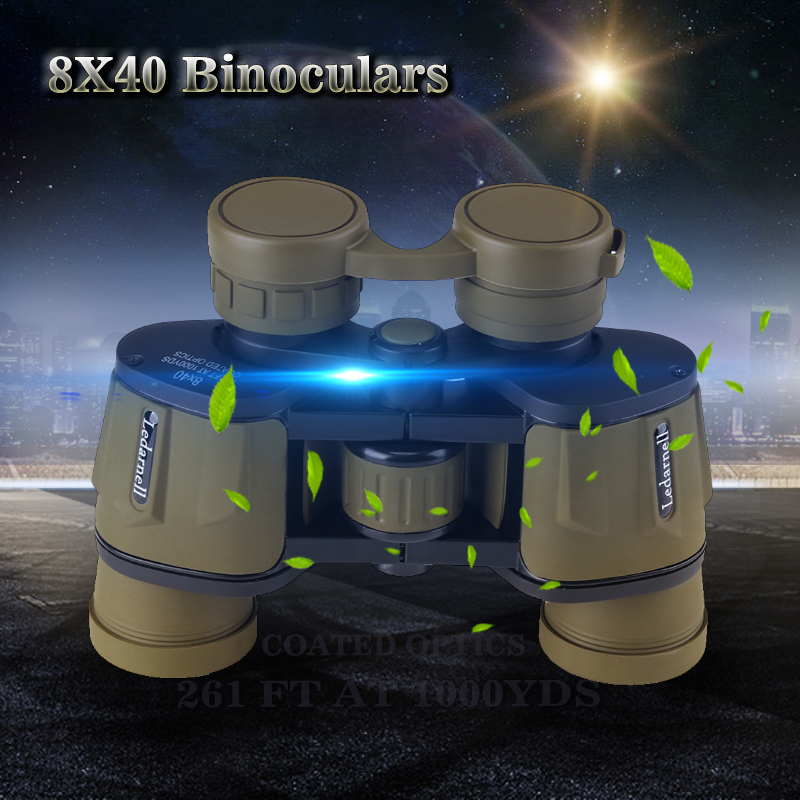 8x40 high-definition high-power night vision outdoor infrared binoculars hunting professional binoculars telescope waterproof 12x42 binocular telescope night vision high resolution non infrared waterproof anti fog case strap outdoor travel telescop