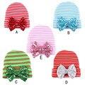 1pic Moda Inverno Tampão Feito Malha Chapéu Do Bebê Recém-nascido Cutton Bebê Nascido Acessórios Do Bebê Presentes de Natal