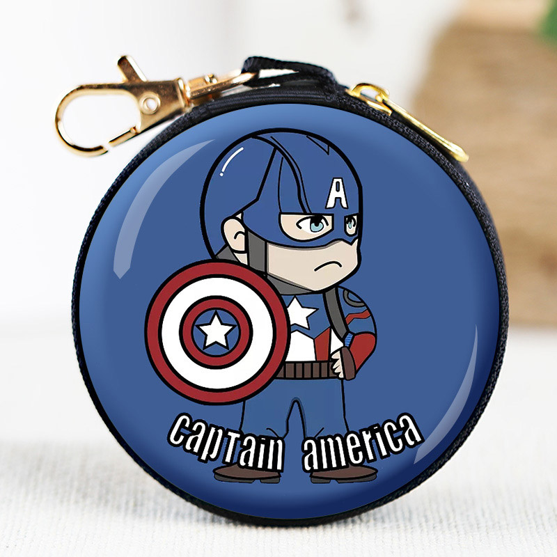 NEW Spiderman Cartoon Kids Boys Girls Rubber Coin Purse Wallet Headset Bag Gift