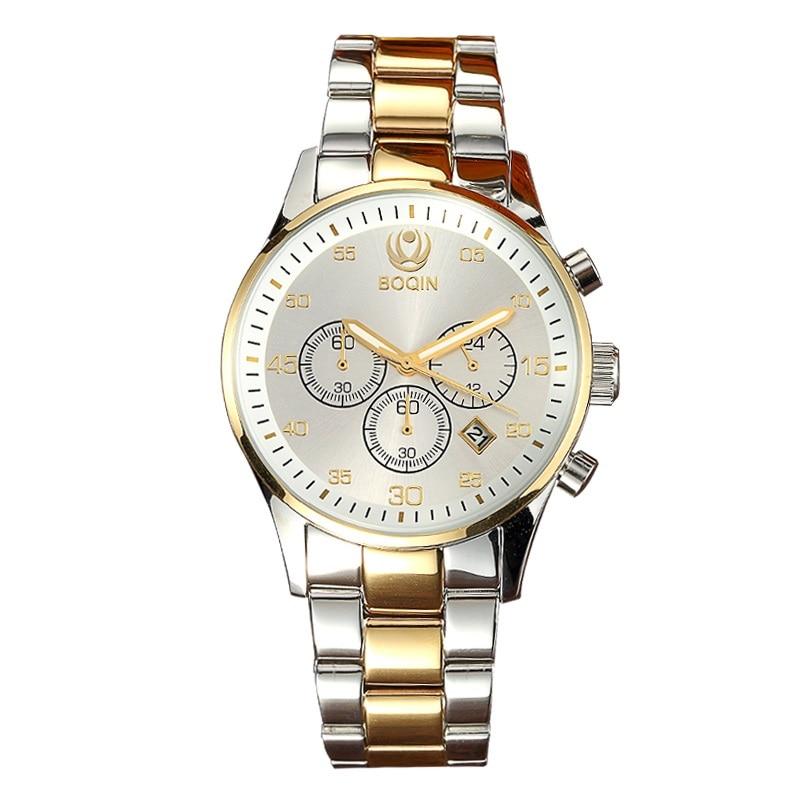 XINBOQIN Men Quartz Watches Fashion Waterproof Business Wrist Watch Calendar Men's Leather Strap Simple Quartz Wristwatches curren men s fashion simple leather simple quartz sport wrist watch