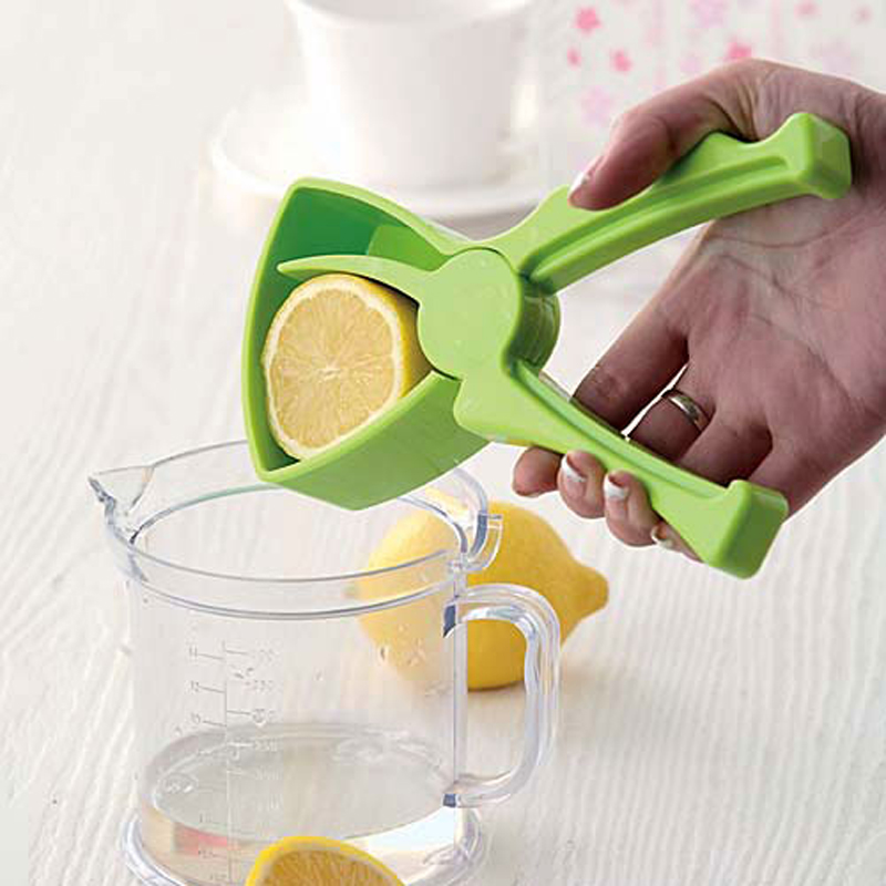 Drixon Handheld Lemon Juicer Squeezer Orange Reamer Squeeze Fruit Juice Drip Kitchen Cooking Tool Novelty Item Little Kit