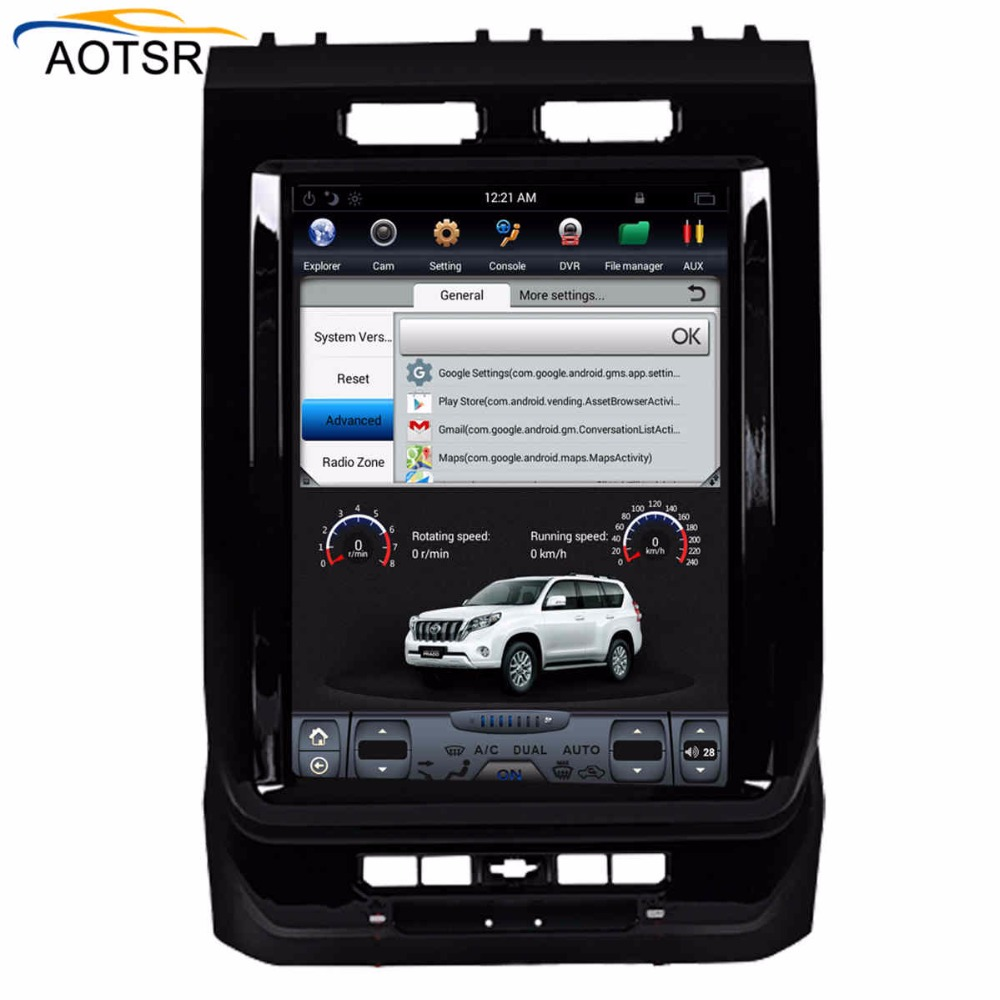 Tesla style 12.1 Android 6.0 car multimedia Player For Ford F150 2015 2016 2017 2018 car gps navigation car radio stereo no dvd