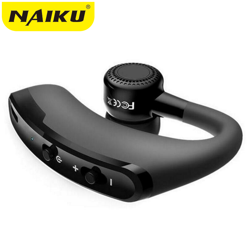 new V9 Business Bluetooth Headset Wireless Earphone Car Bluetooth V4.1 Phone Handsfree MIC Music for iPhone Xiaomi Samsung