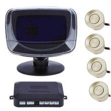 4 парковки Сенсор DC12V авто Реверсивный детектор с цифровым Дисплей и Повышающий сигнализации Мониторы Системы