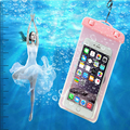 Multicolor New Universal Travel Swimming Waterproof Bag Case Cover For phone 5s 6s 7plus Under 5.5 inch Cell Phone Free shipping