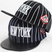 New Fashion Baseball Caps For Kids Stripe Design NEW YORK Adjustable Hat Outdoor Healthy Boys And Girls