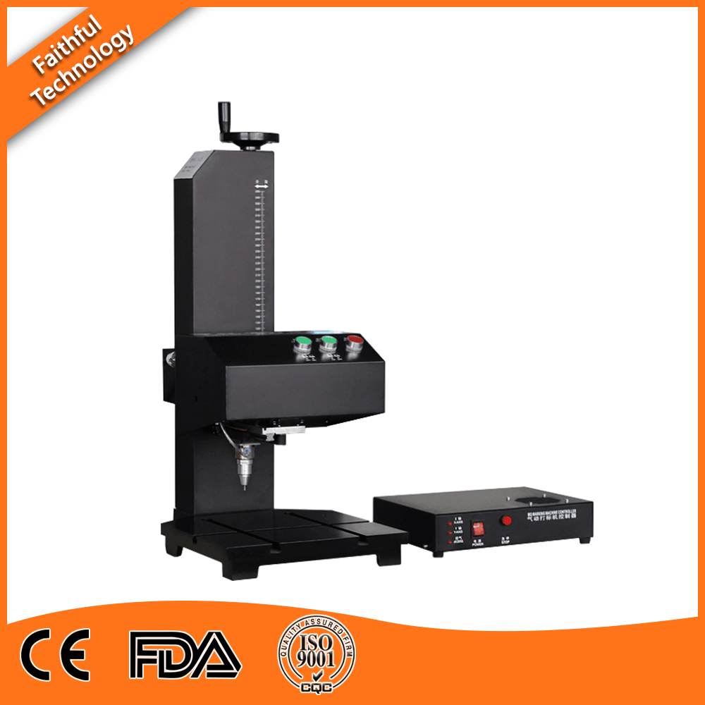 Dot Peen Pneumatic Marking Machine for VIN Number Coding new my 380f ink wheel coding machine ink wheel marking machine automatically continuous marking machine 180w 220v 110v 50hz 60hz