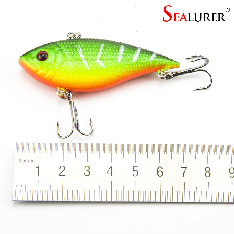 Fishing Lure 7cm 10.5g Wobbler Fishing Lures Rocker Lifelike VIB Lure - Fishing - Photo 3