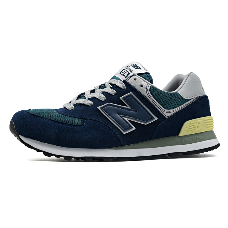New Balance 574 female Shoes zapatillas mujer deportiva Running Shoes Red light Breathable Sports Shoes Hot SaleNew Balance 574 female Shoes zapatillas mujer deportiva Running Shoes Red light Breathable Sports Shoes Hot Sale