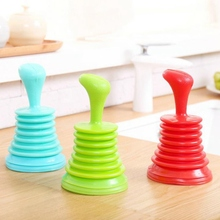 Whoelsale Household Powerful Sink Drain Pipe Pipeline Dredge Suction Cup Toilet Plungers Drain Cleaners Freeshipping