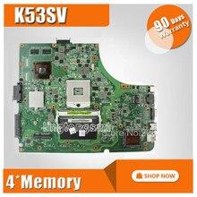 K53SV Motherboard REV 2.1,2.3,3.0,3.1 Para For Asus X53S A53S K53S K53SC P53SJ K53SM K53SJ Laptop motherboard Mainboard HM65