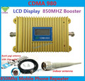 LCD Display! CDMA 850Mhz Mobile Phone CDMA 980 Signal Booster, CDMA Signal Repeater + 13 dBi 9 units Yagi Antenna with 10M Cable
