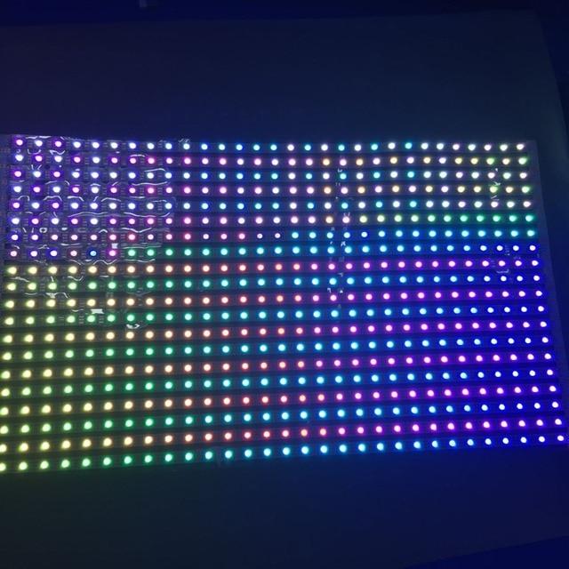 30*40 pixels RGB full color WS2812B Flexible LED Pixel Panel Light DC5V